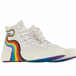 New Men Converse 2021 Chuck 70s Hi Pride Rainbow